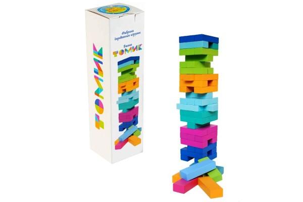 Настольная игра Башня цветная «Томик»