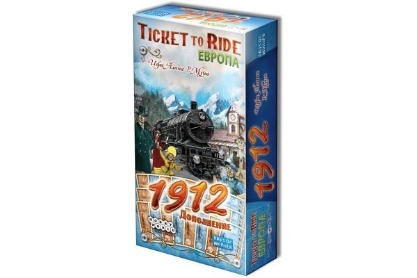 Настольная игра Ticket to Ride: Европа 1912 (дополнение)