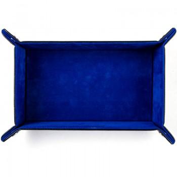 Дайс-трей прямоугольный «Синий бархат»