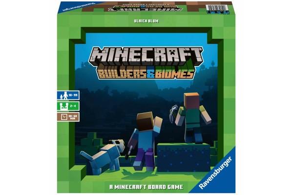 Настольная игра Minecraft. Строители и Биомы