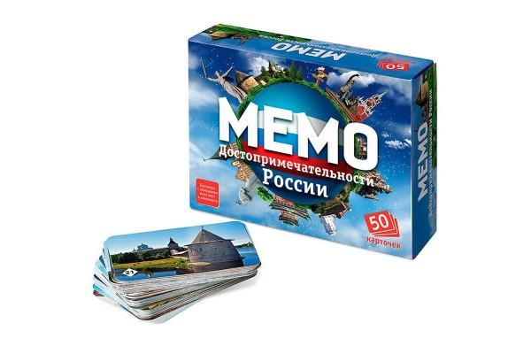 Настольная игра Мемо. Достопримечательности России