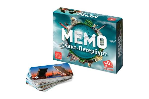 Настольная игра Мемо. Санкт-Петербург