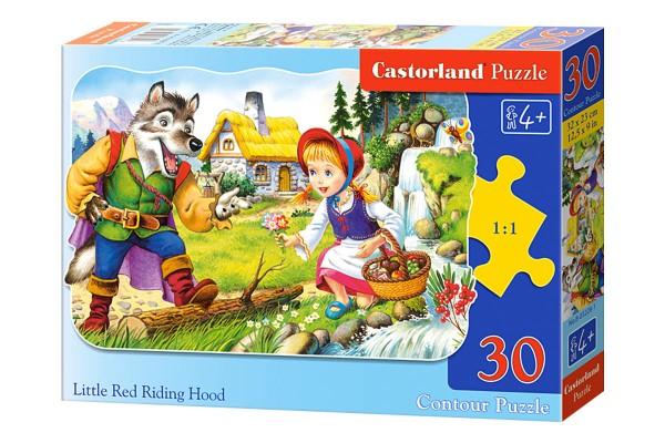 Пазл Castorland Красная шапочка, 30 деталей