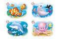 Пазл Castorland Подводный мир, 4 в 1 (8,12,15,20 деталей)