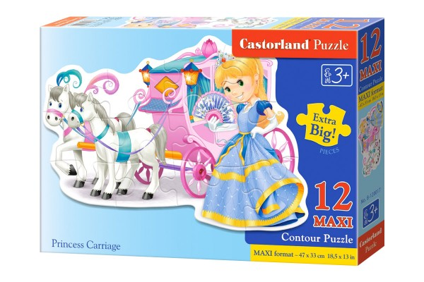 Пазл Castorland Принцесса, 12 деталей MAXI