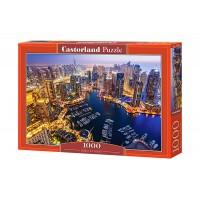 Пазл Castorland Дубай ночью, 1000 деталей