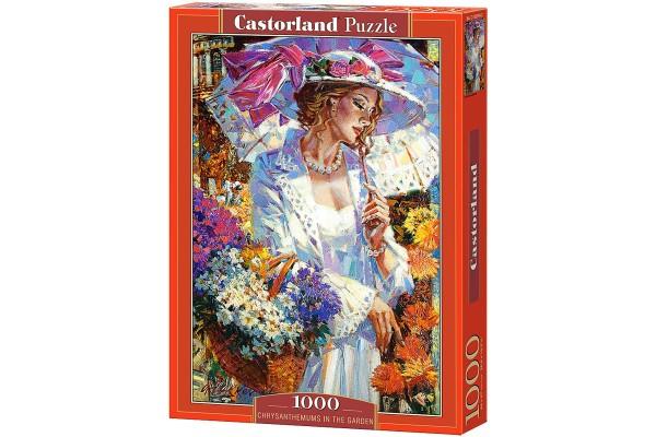 Пазл Castorland Хризантемы, 1000 деталей