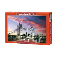 Пазл Castorland Мост Тауэр, 1000 деталей