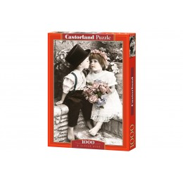Пазл Castorland Поцелуй, 1000 деталей