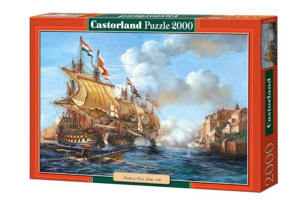 Пазл Castorland Битва в Порто Белло, 2000 деталей