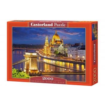 Пазл Castorland Будапешт в сумерках, 2000 деталей