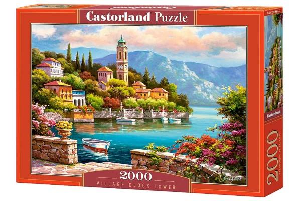 Пазл Castorland Часовая башня, 2000 деталей