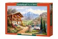 Пазл Castorland Дом в горах, 2000 деталей