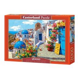 Пазл Castorland Весна в Санторини, 2000 деталей