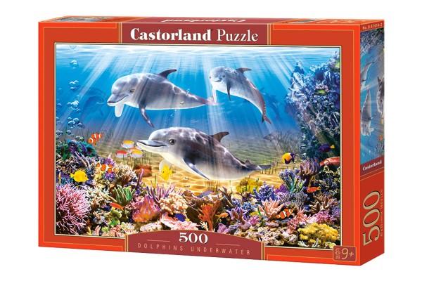 Пазл Castorland Дельфины, 500 деталей