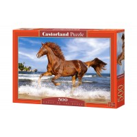 Пазл Castorland Лошадь, 500 деталей