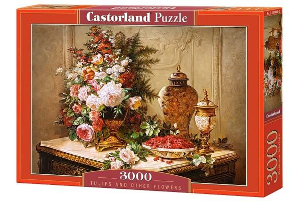 Пазл Castorland Цветы. Живопись, 3000 деталей