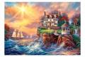 Пазл Castorland Дом на берегу, 3000 деталей