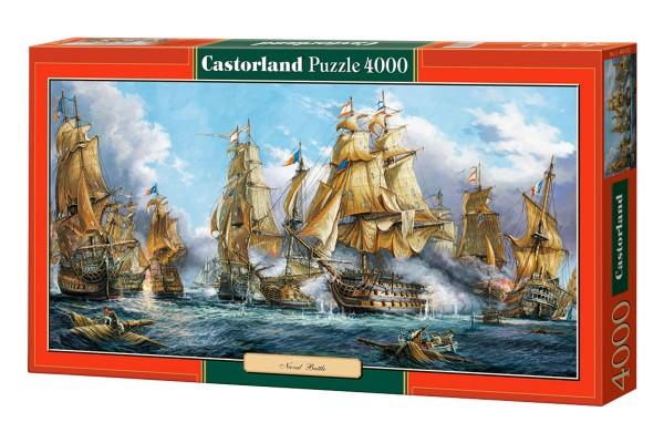 Пазл Castorland Морской бой, 4000 деталей
