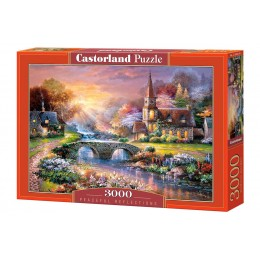 Пазл Castorland Мост через реку, 3000 деталей
