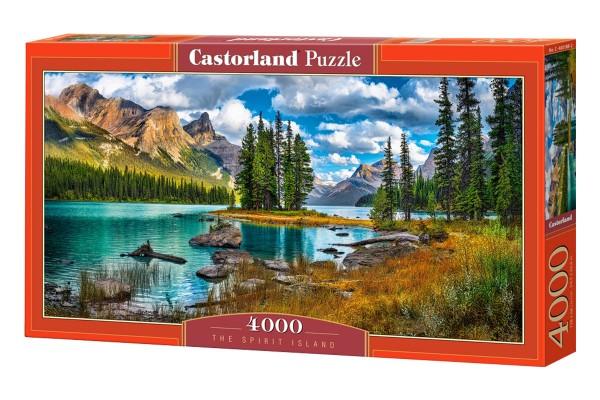 Пазл Castorland Остров на озере, 4000 деталей