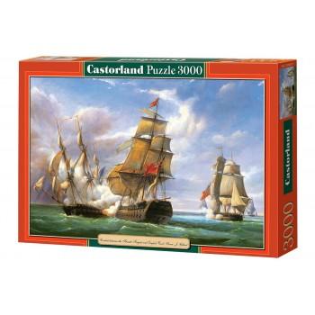 Пазл Castorland Парусник, 3000 деталей