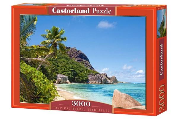 Пазл Castorland Пляж. Сейшелы, 3000 деталей