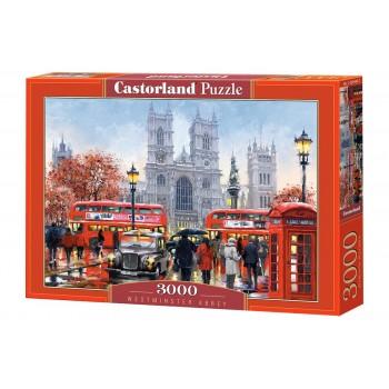 Пазл Castorland Вестминстерское аббатство, 3000 деталей