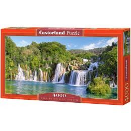 Пазл Castorland Водопады Крка. Хорватия, 4000 деталей