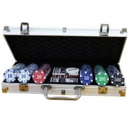 Набор для покера, 300 фишек с номиналом