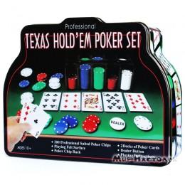 Набор для покера Texas Holdem 200