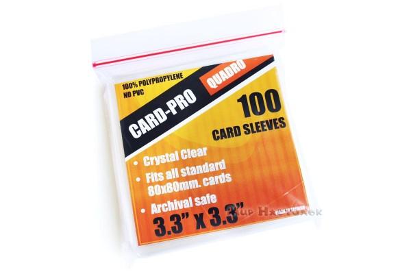 Протекторы Card-Pro 82x82 мм