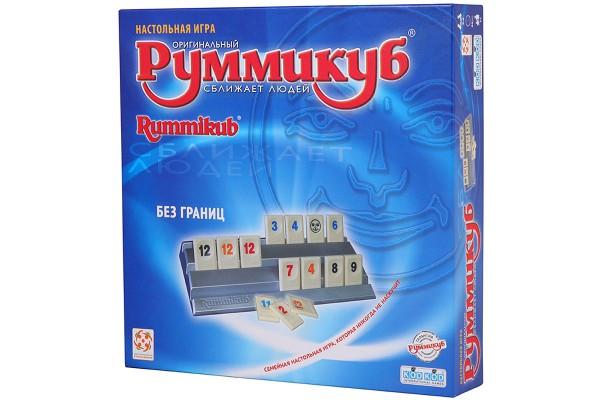 Настольная игра Руммикуб. Без границ
