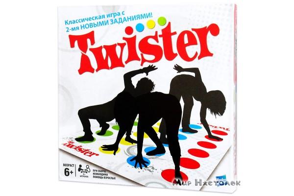 Напольная игра Твистер (новая версия)