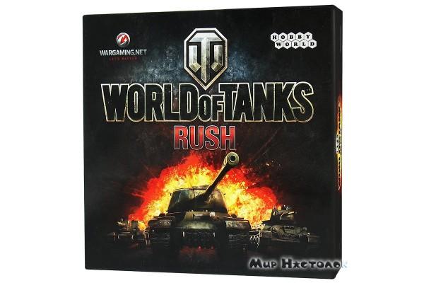 Настольная игра World of Tanks: Rush