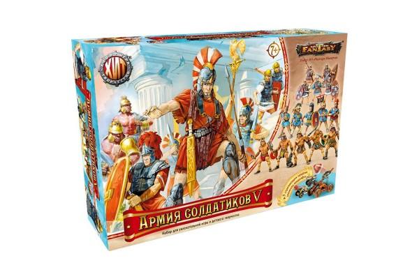 Битвы Fantasy. Армия солдатиков №5. Римская империя