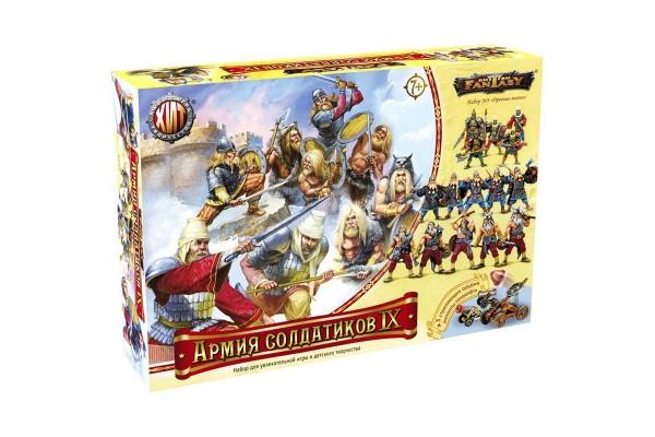 Битвы Fantasy. Армия солдатиков №9. Древние воины